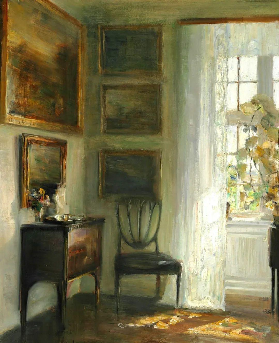 室内一角,Carl Vilhelm Holsoe (下)插图41