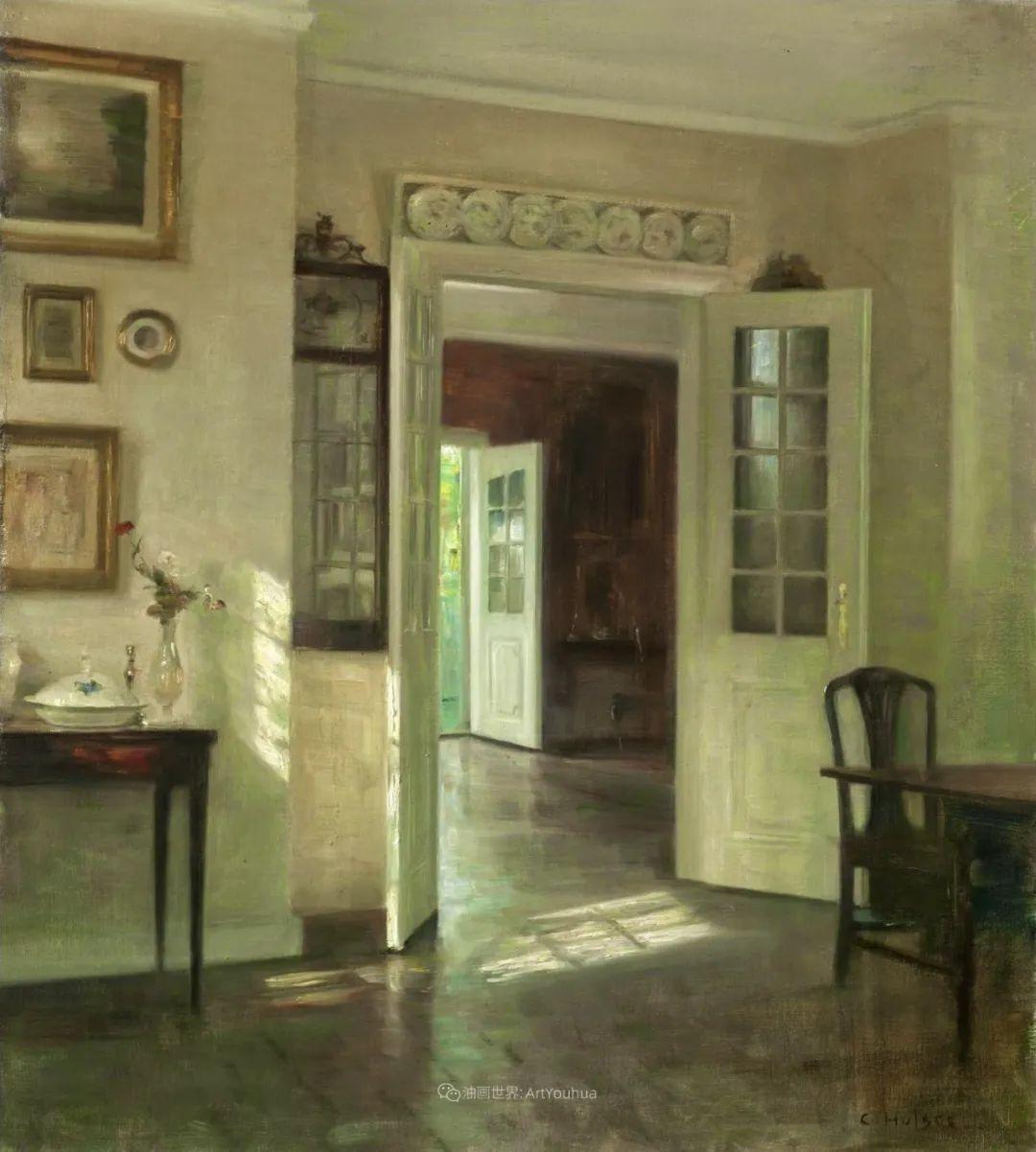 室内一角,Carl Vilhelm Holsoe (下)插图43