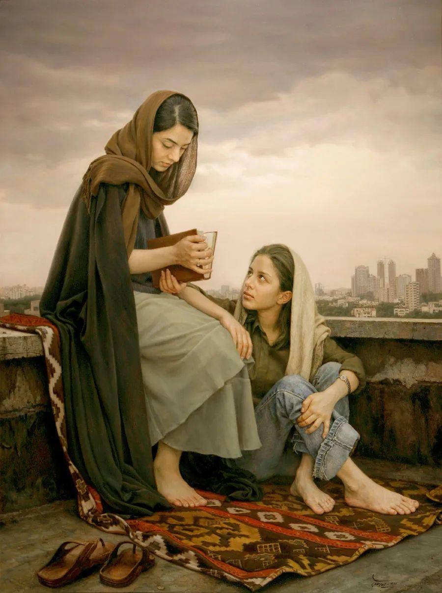 隐藏于内的情感释放,伊朗画家Iman Maleki插图1
