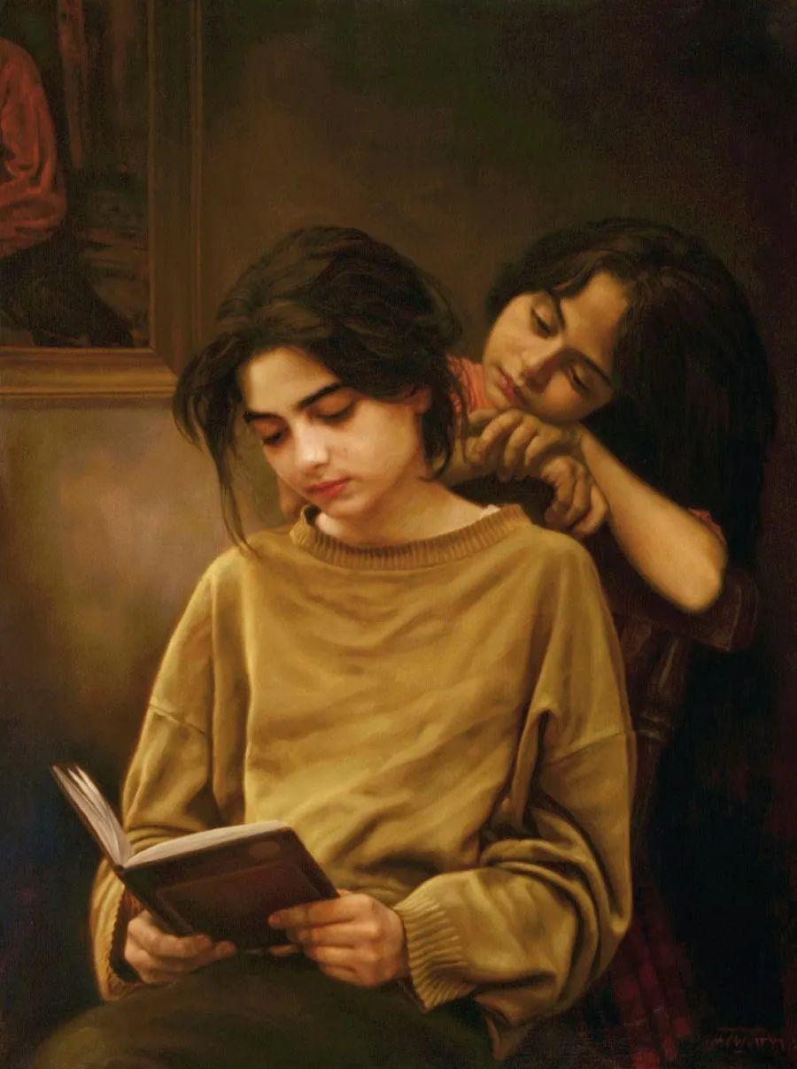 隐藏于内的情感释放,伊朗画家Iman Maleki插图3