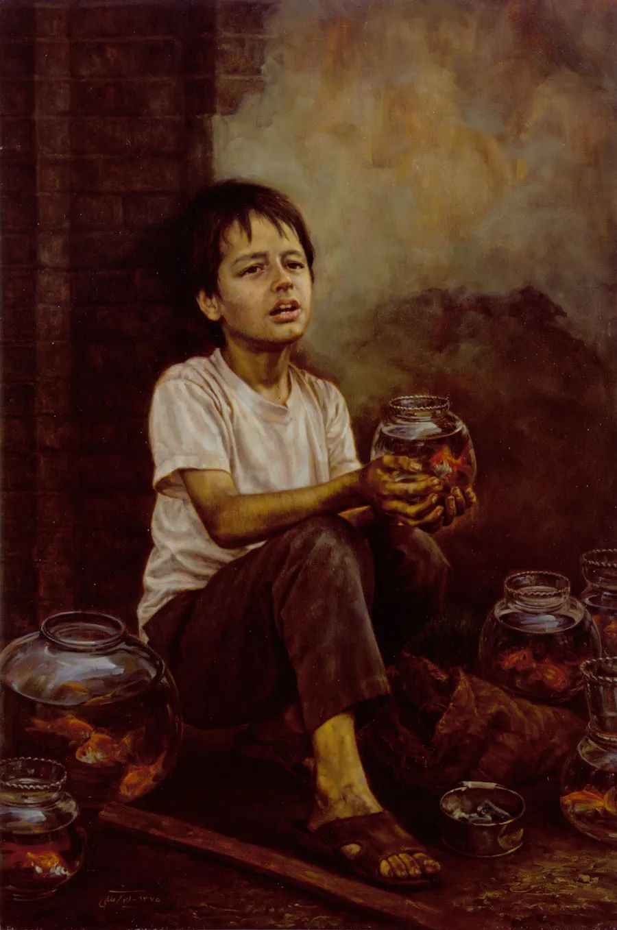 隐藏于内的情感释放,伊朗画家Iman Maleki插图9