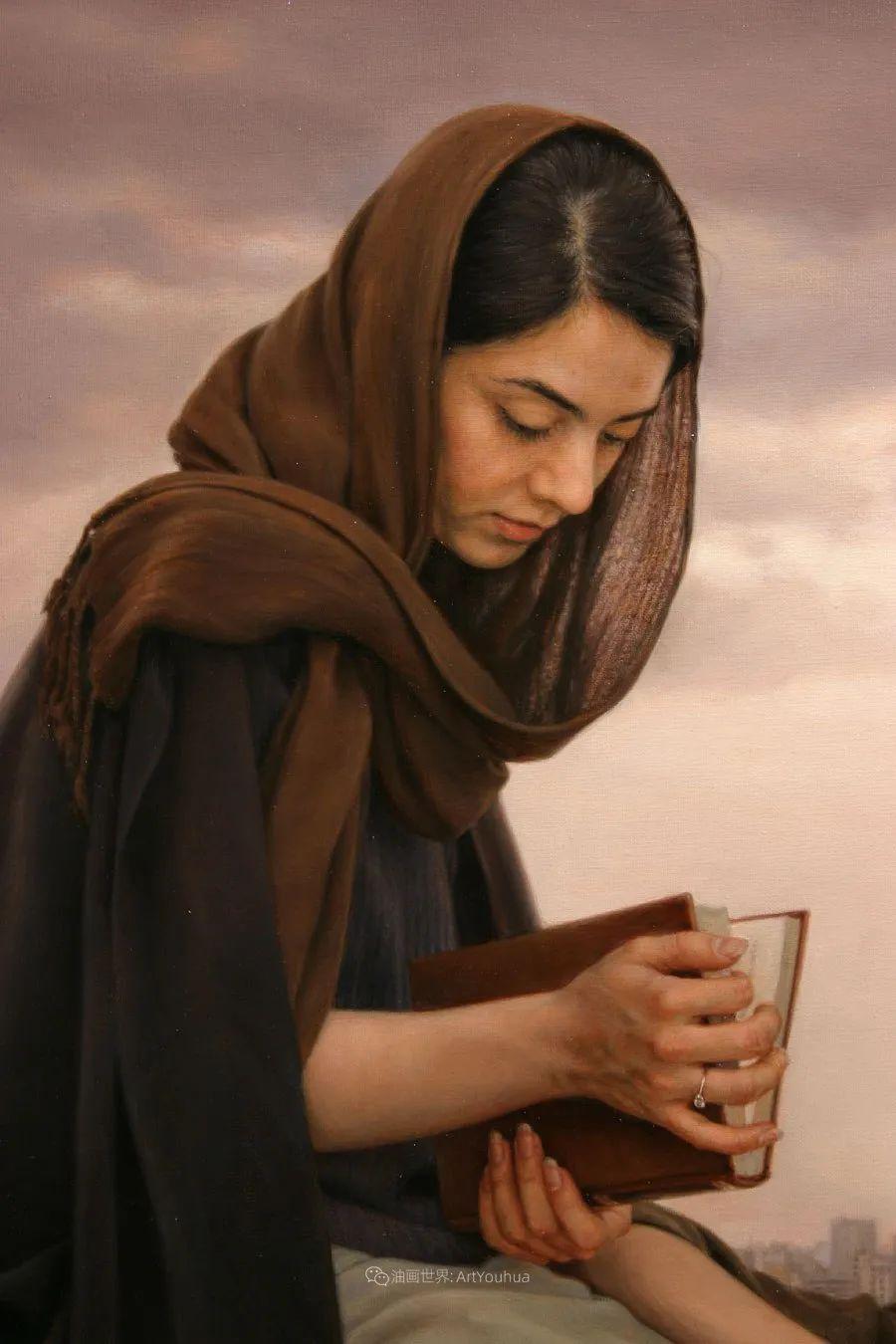 隐藏于内的情感释放,伊朗画家Iman Maleki插图17