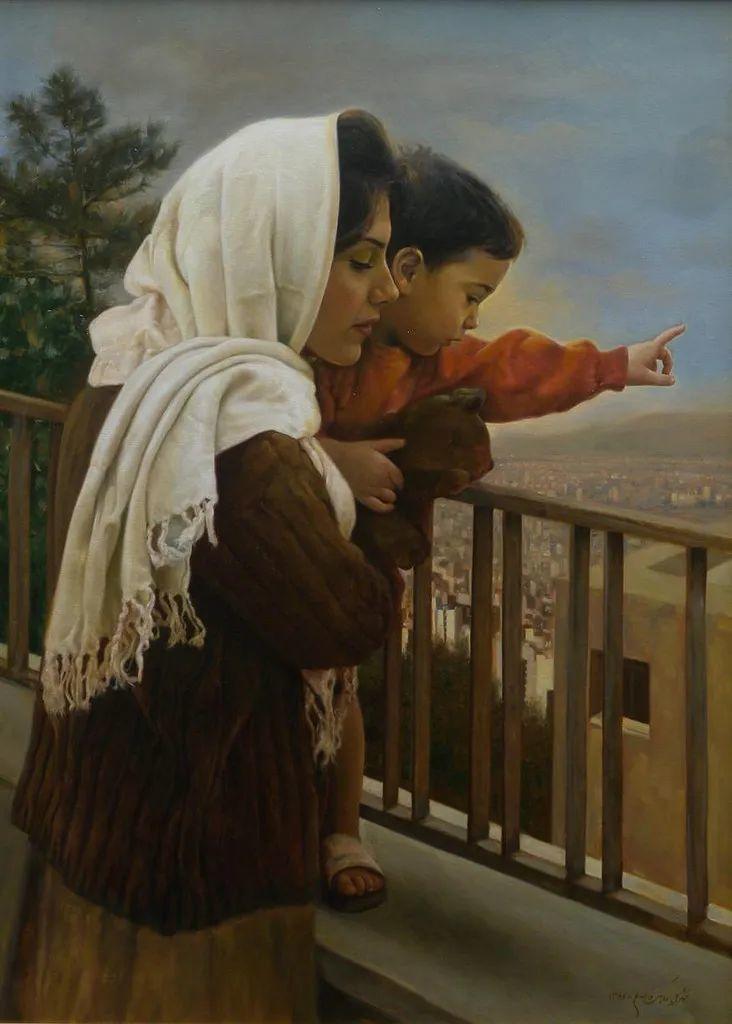 隐藏于内的情感释放,伊朗画家Iman Maleki插图25
