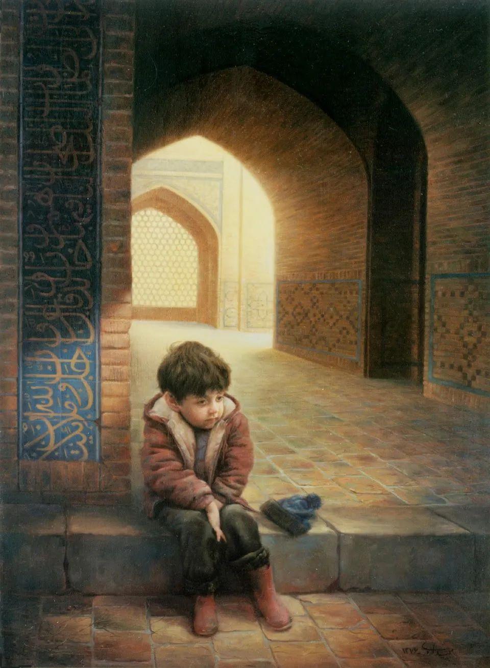 隐藏于内的情感释放,伊朗画家Iman Maleki插图61