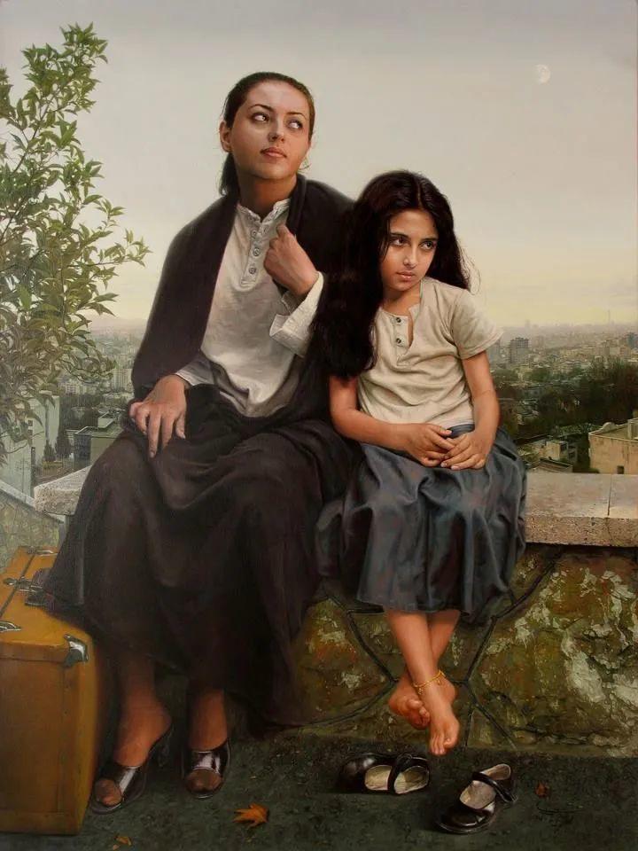 隐藏于内的情感释放,伊朗画家Iman Maleki插图71