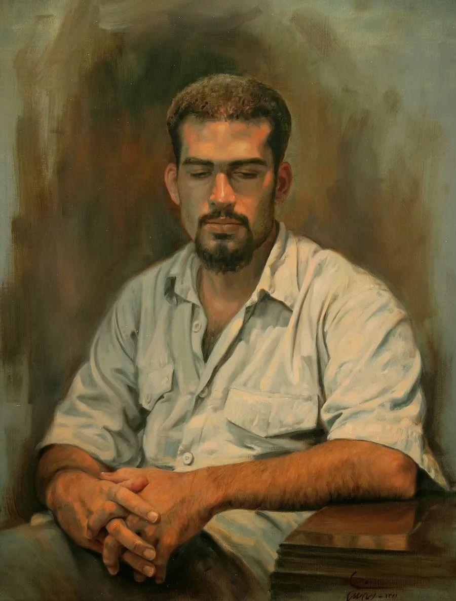 隐藏于内的情感释放,伊朗画家Iman Maleki插图97