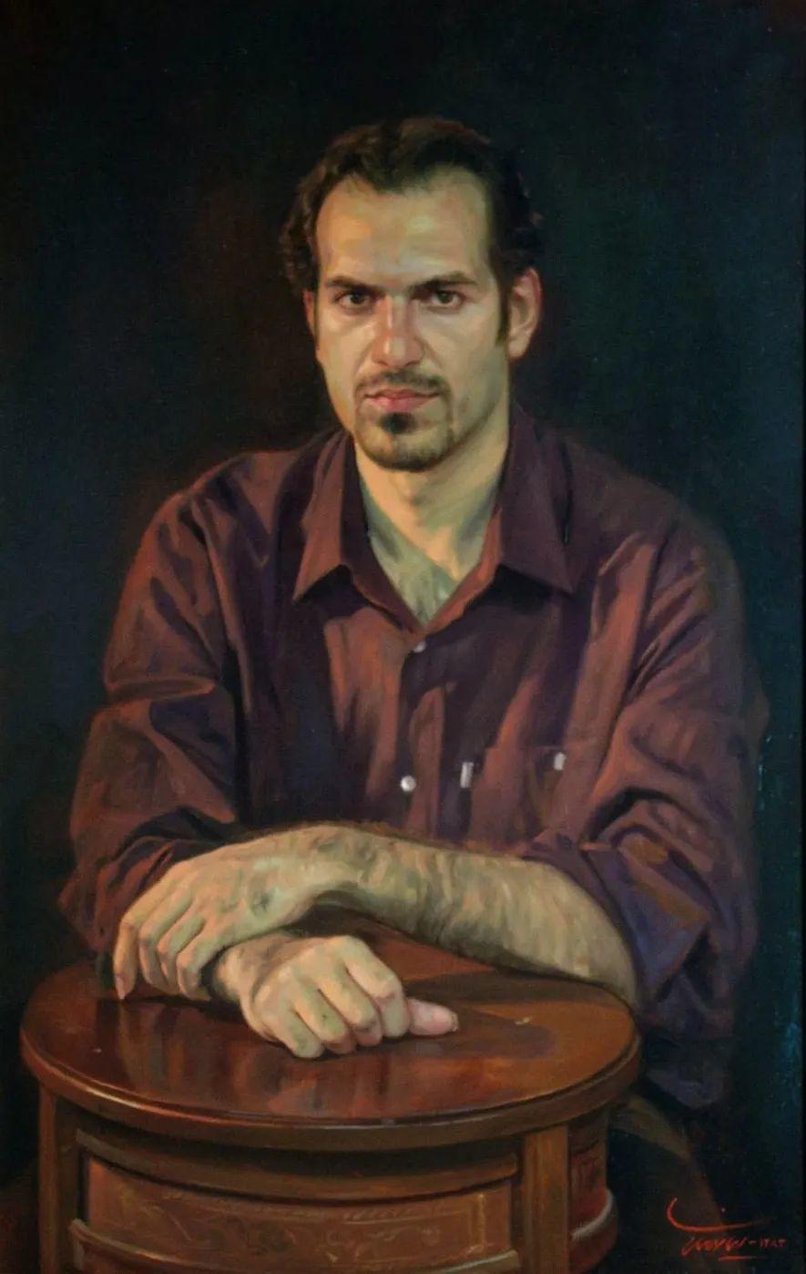 隐藏于内的情感释放,伊朗画家Iman Maleki插图99