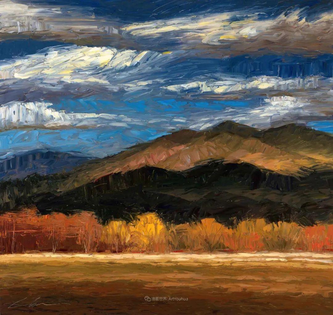 温暖祥和的风景,美国画家Jeff Cochran插图1