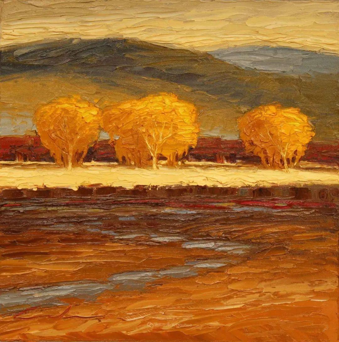 温暖祥和的风景,美国画家Jeff Cochran插图5
