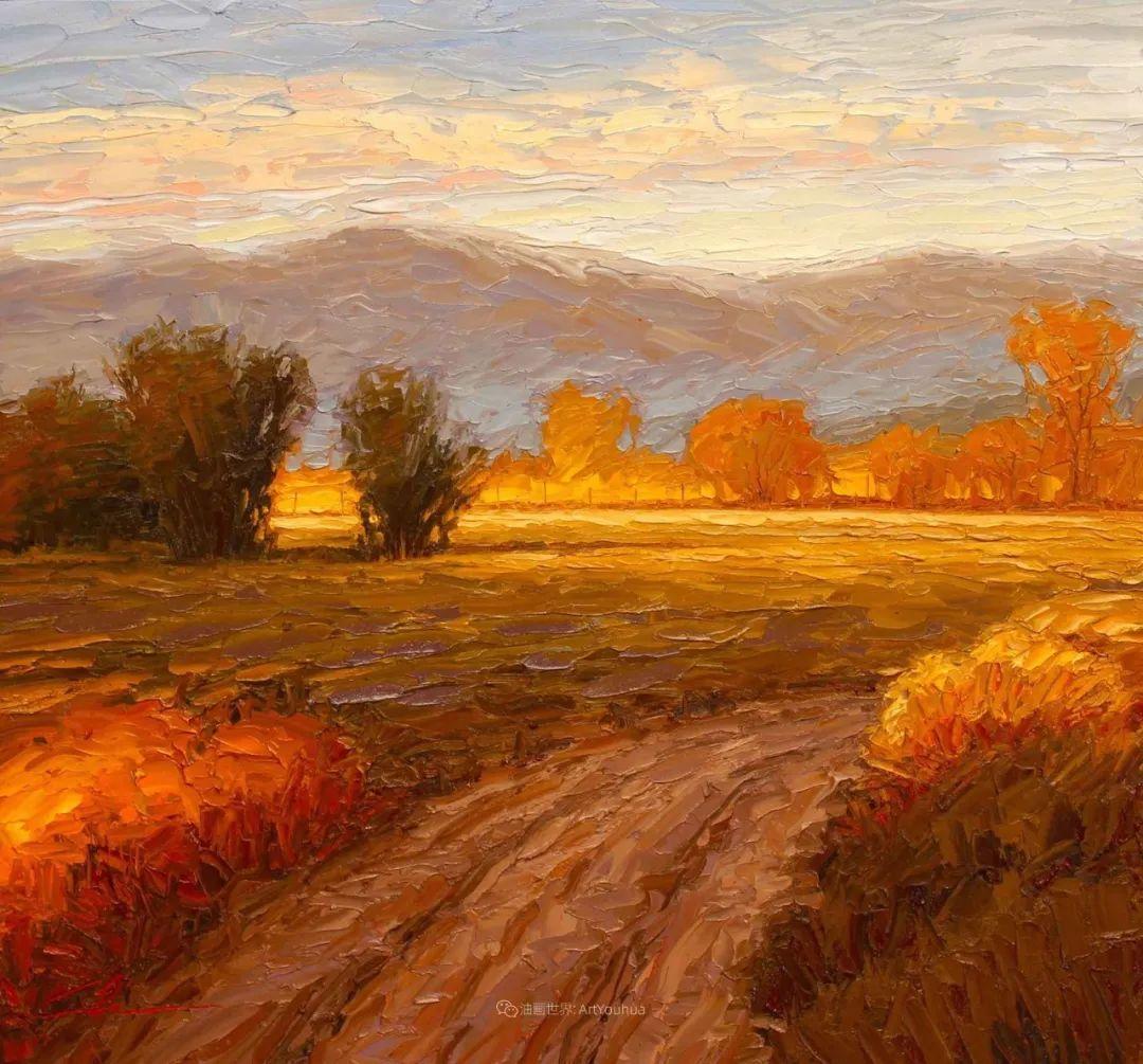 温暖祥和的风景,美国画家Jeff Cochran插图7