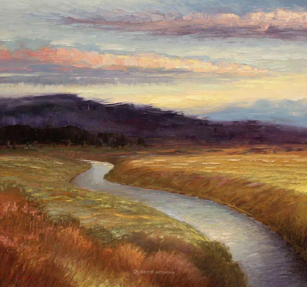 温暖祥和的风景,美国画家Jeff Cochran插图9