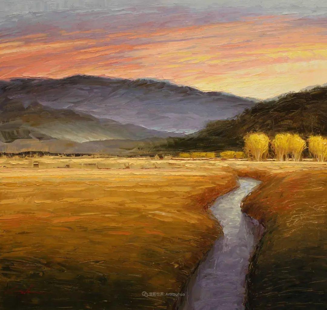 温暖祥和的风景,美国画家Jeff Cochran插图11