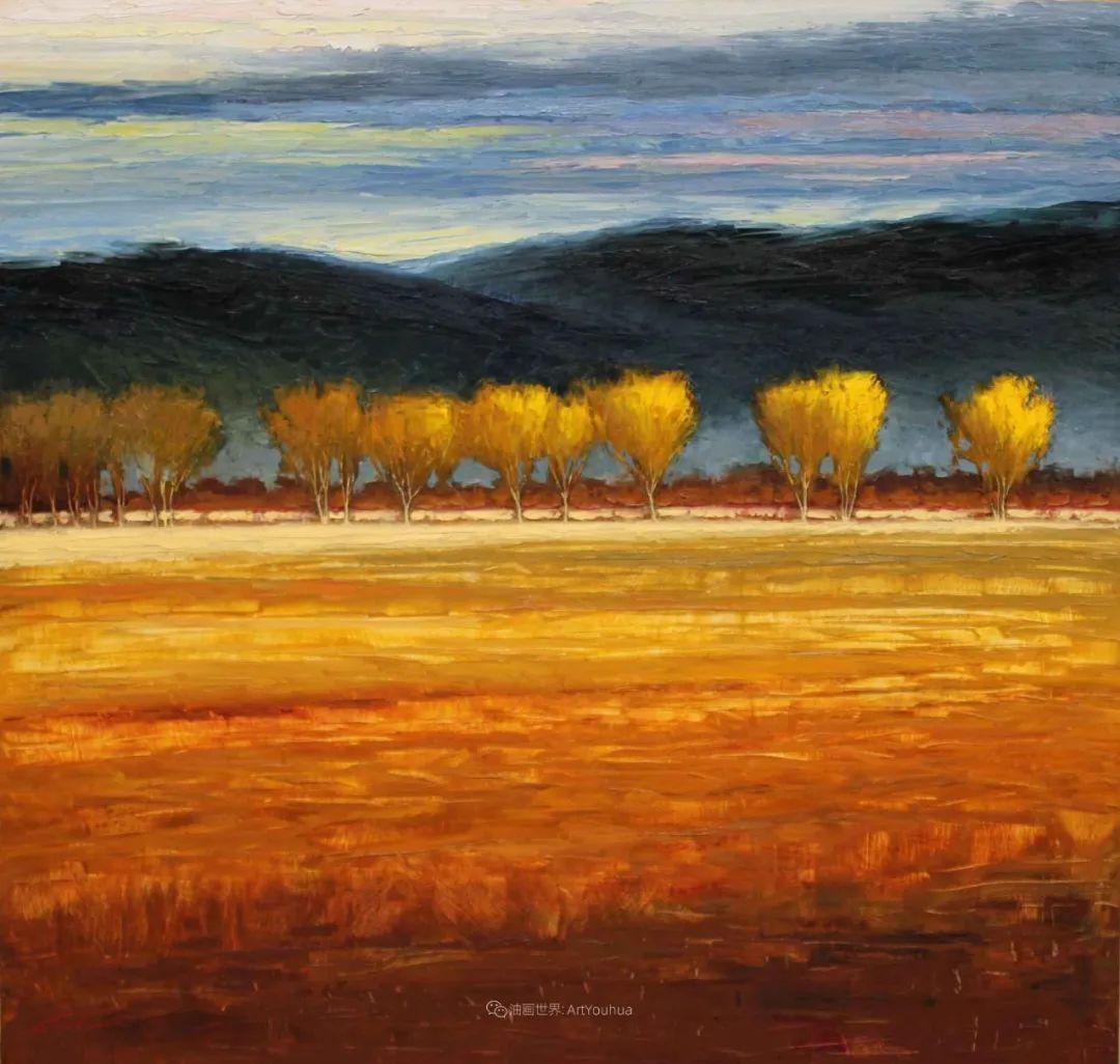 温暖祥和的风景,美国画家Jeff Cochran插图13