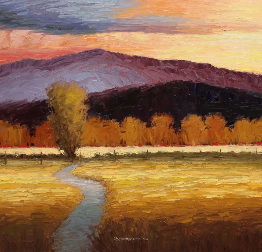 温暖祥和的风景,美国画家Jeff Cochran插图15