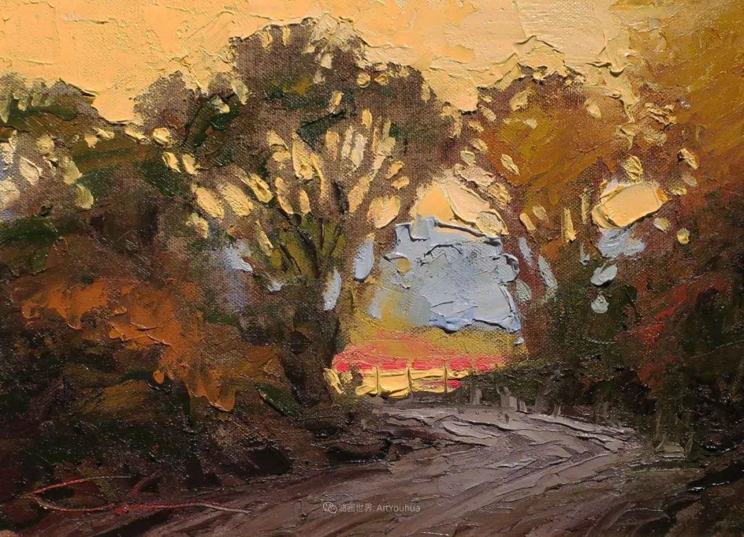 温暖祥和的风景,美国画家Jeff Cochran插图17