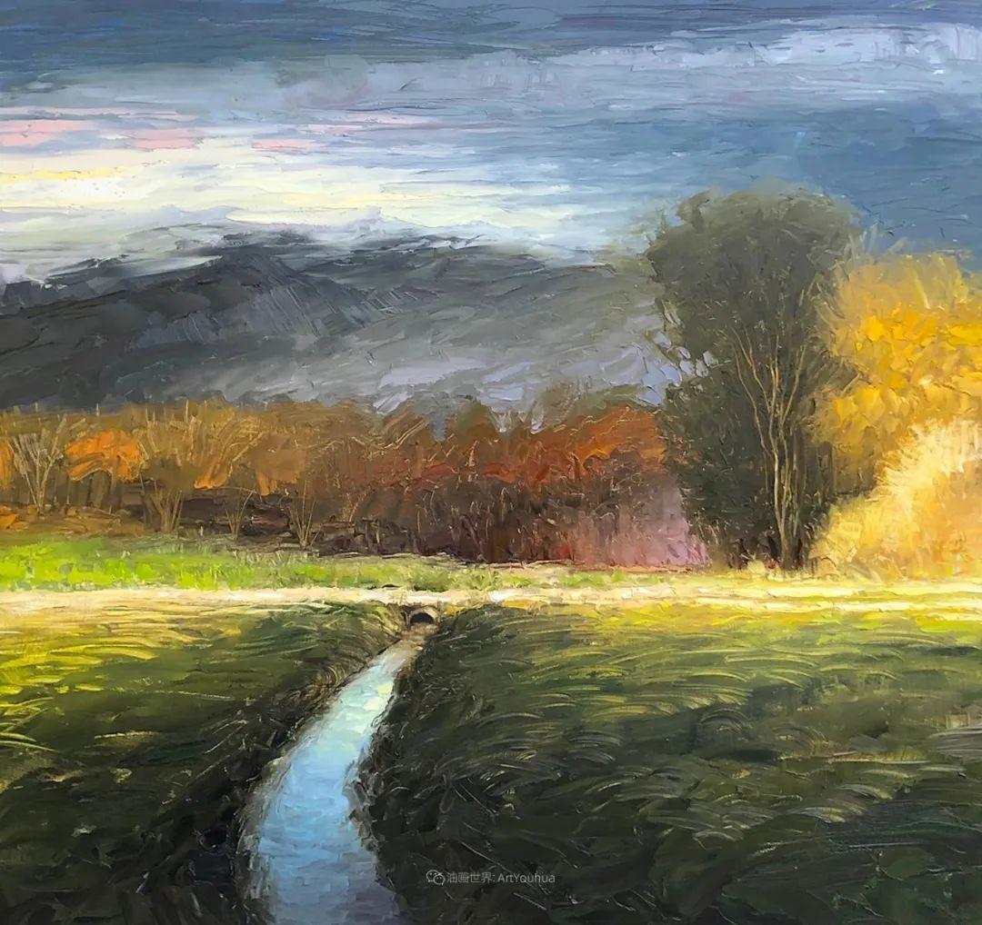 温暖祥和的风景,美国画家Jeff Cochran插图19