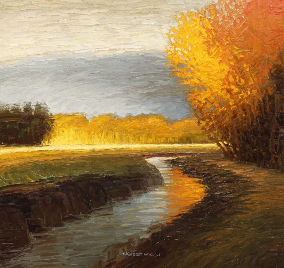 温暖祥和的风景,美国画家Jeff Cochran插图21