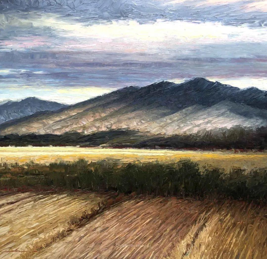 温暖祥和的风景,美国画家Jeff Cochran插图23