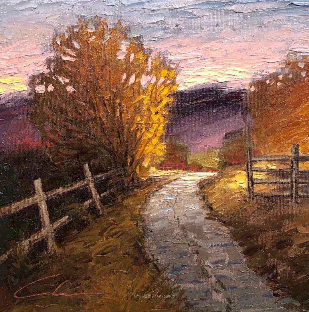 温暖祥和的风景,美国画家Jeff Cochran插图25