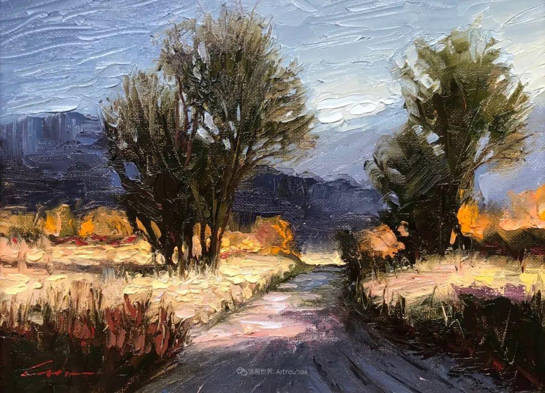 温暖祥和的风景,美国画家Jeff Cochran插图29