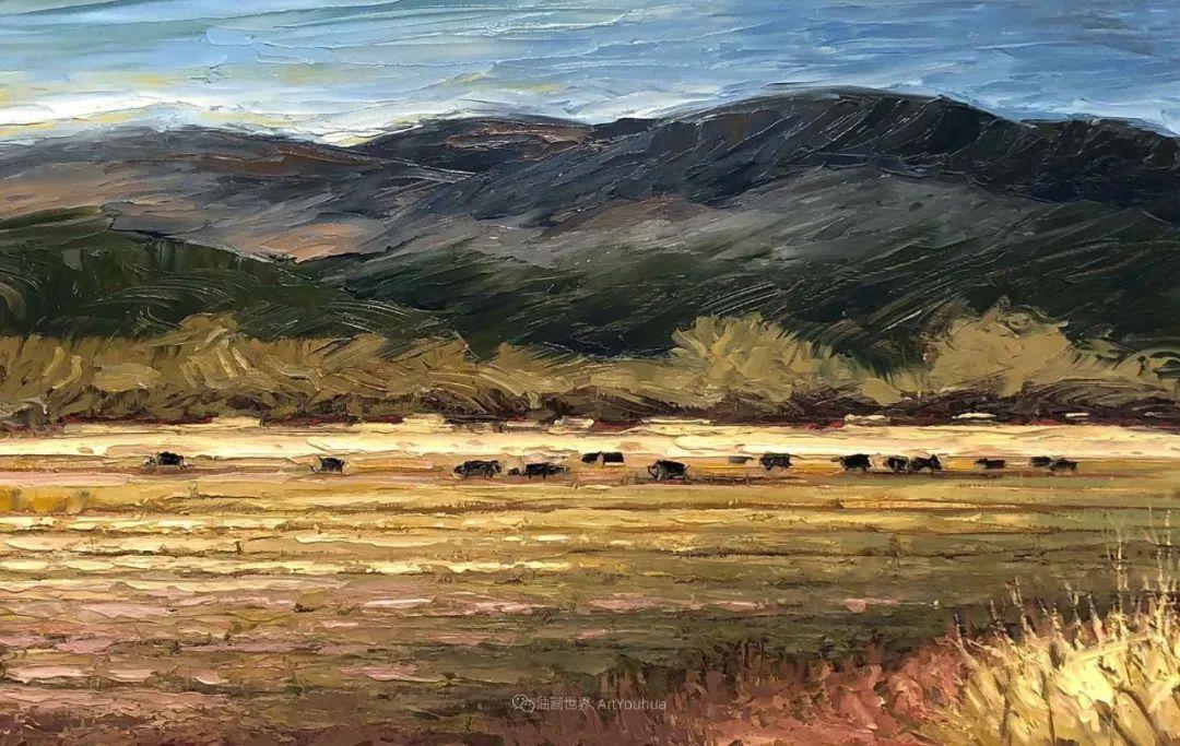 温暖祥和的风景,美国画家Jeff Cochran插图31