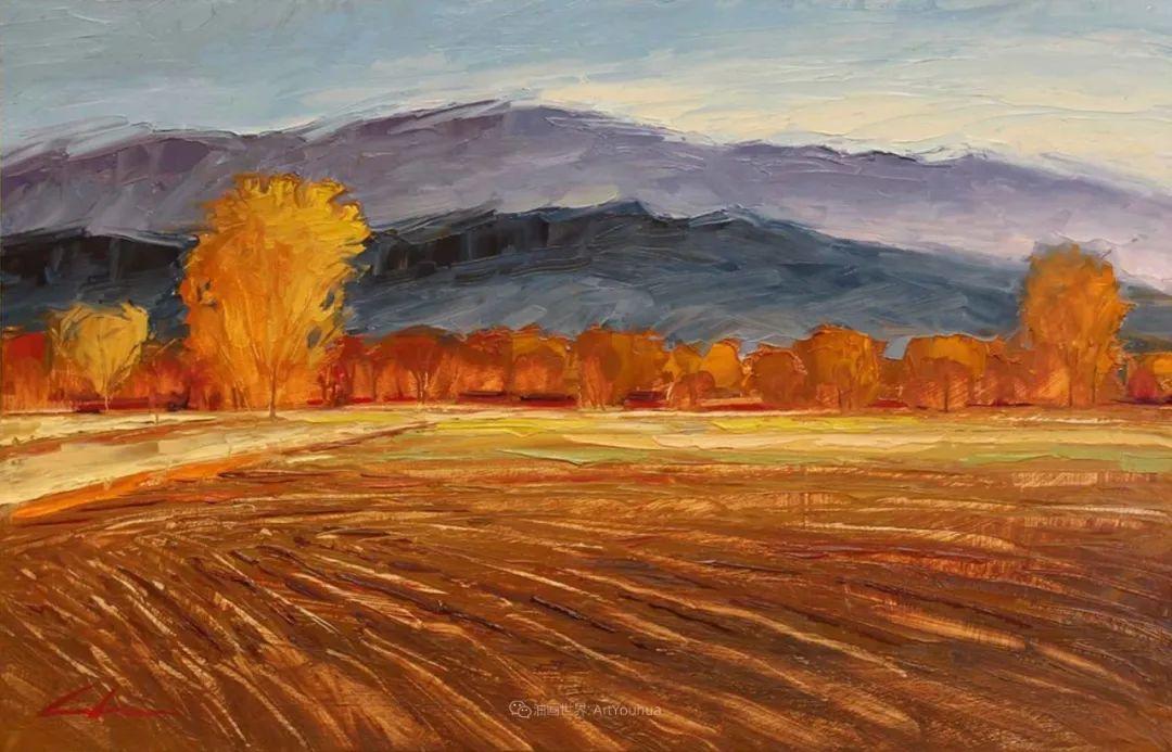 温暖祥和的风景,美国画家Jeff Cochran插图33