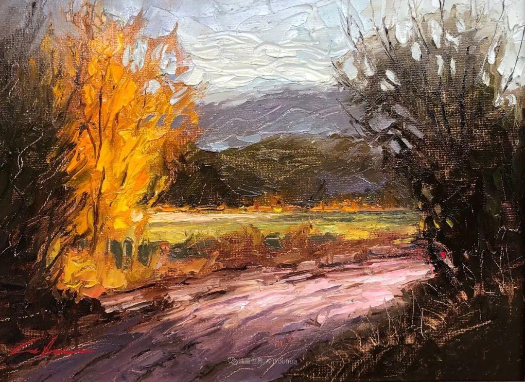 温暖祥和的风景,美国画家Jeff Cochran插图35