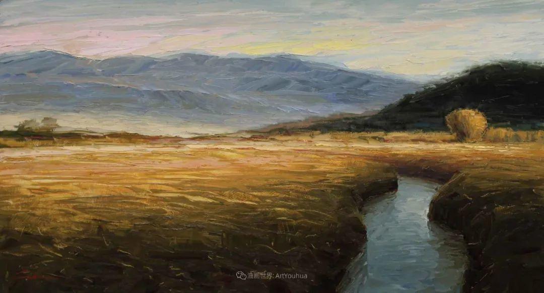 温暖祥和的风景,美国画家Jeff Cochran插图37
