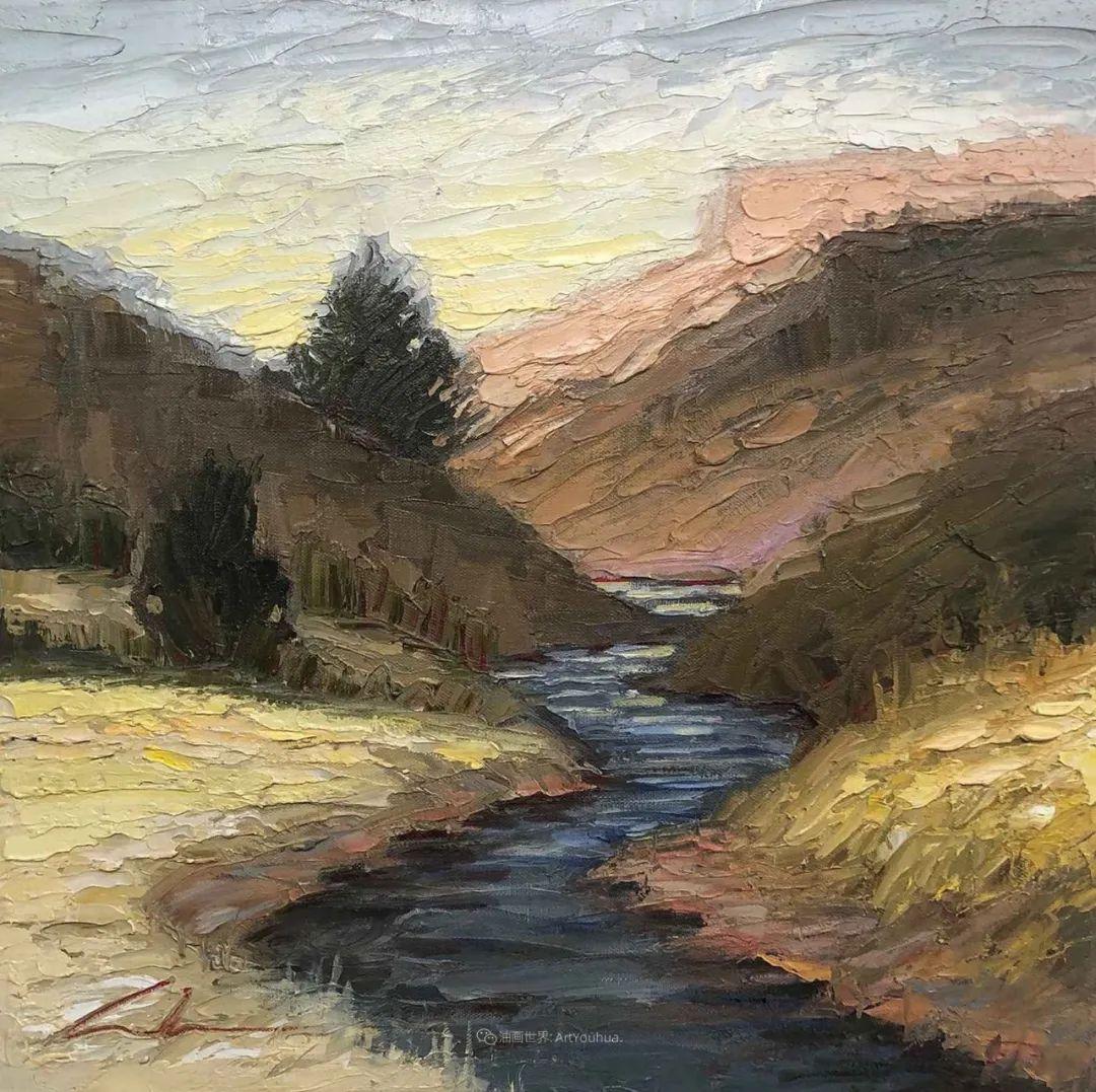 温暖祥和的风景,美国画家Jeff Cochran插图39