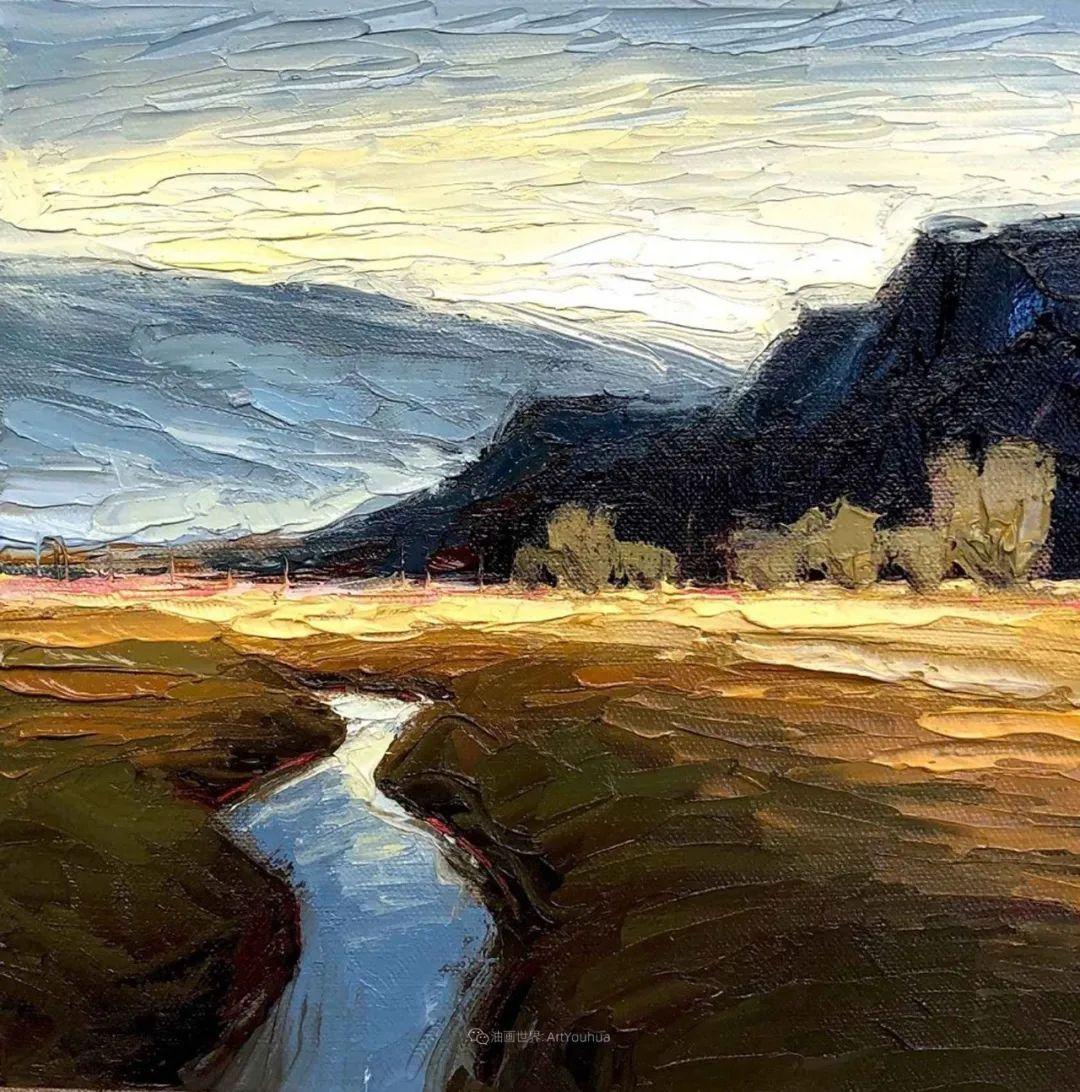 温暖祥和的风景,美国画家Jeff Cochran插图41