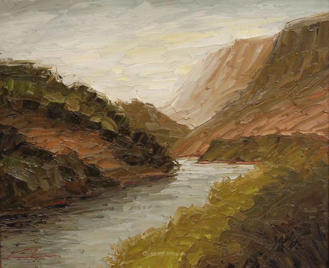 温暖祥和的风景,美国画家Jeff Cochran插图43