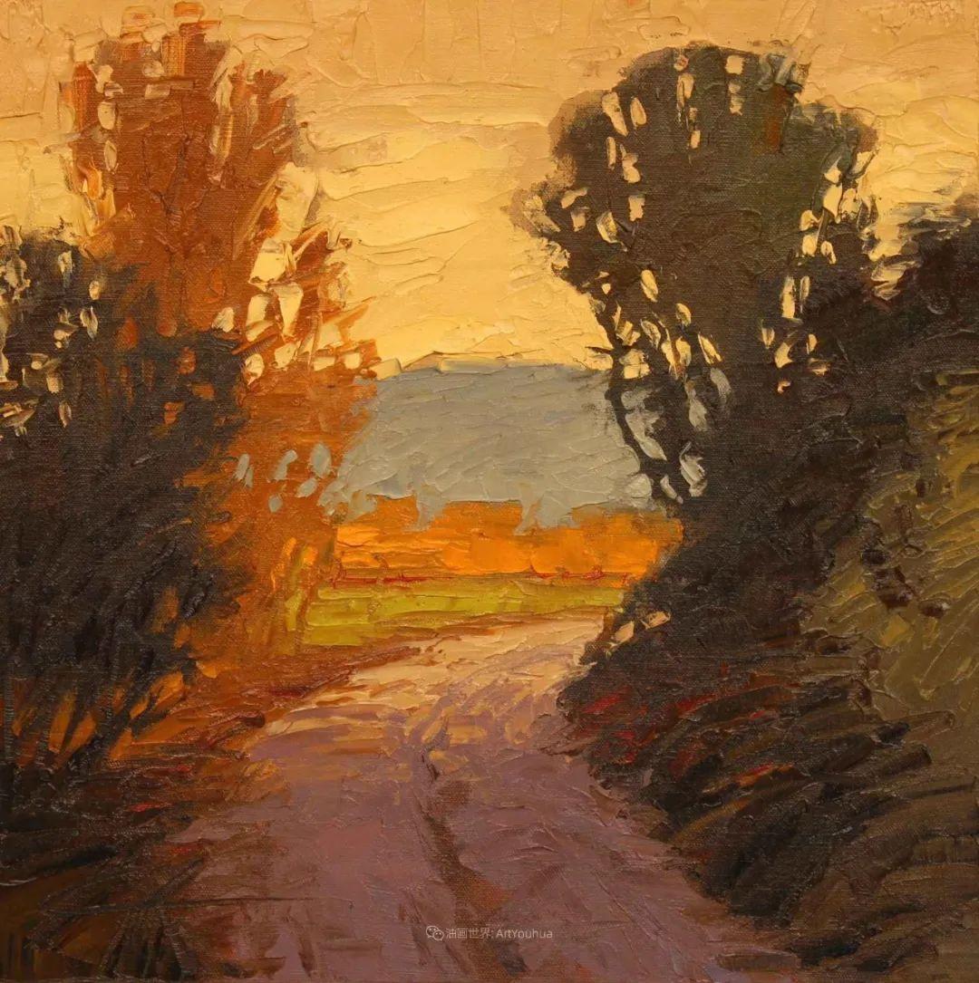 温暖祥和的风景,美国画家Jeff Cochran插图45