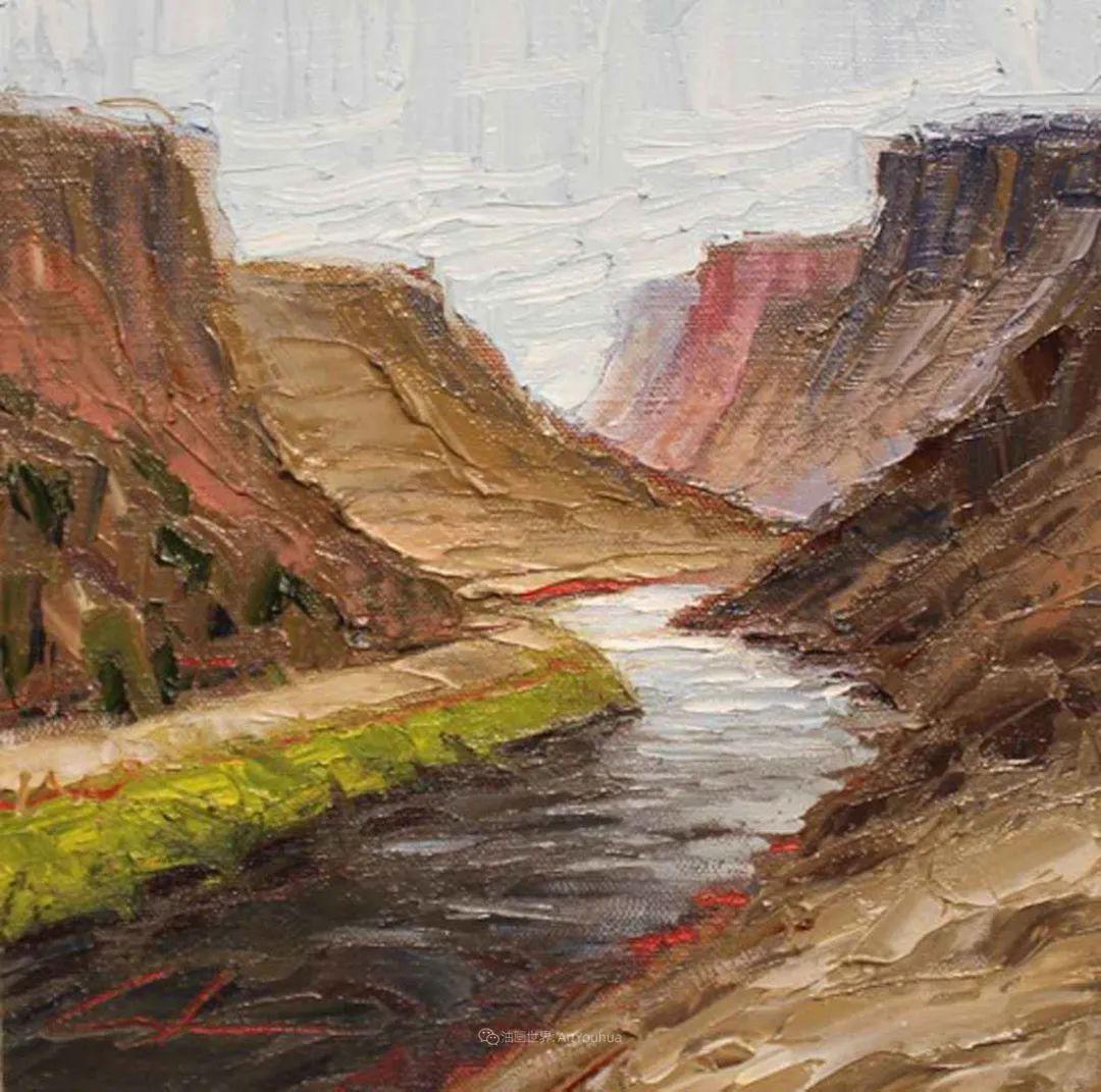 温暖祥和的风景,美国画家Jeff Cochran插图47