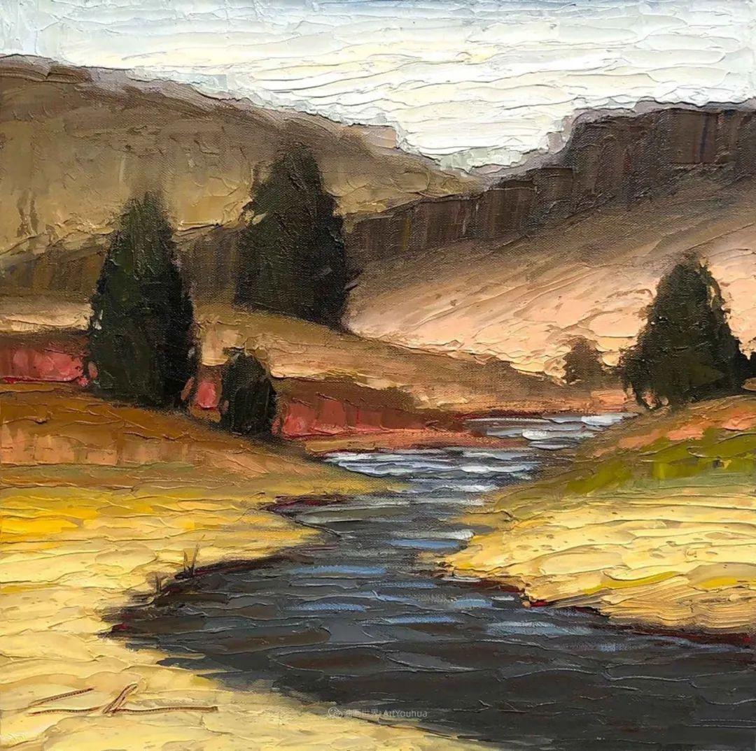温暖祥和的风景,美国画家Jeff Cochran插图49