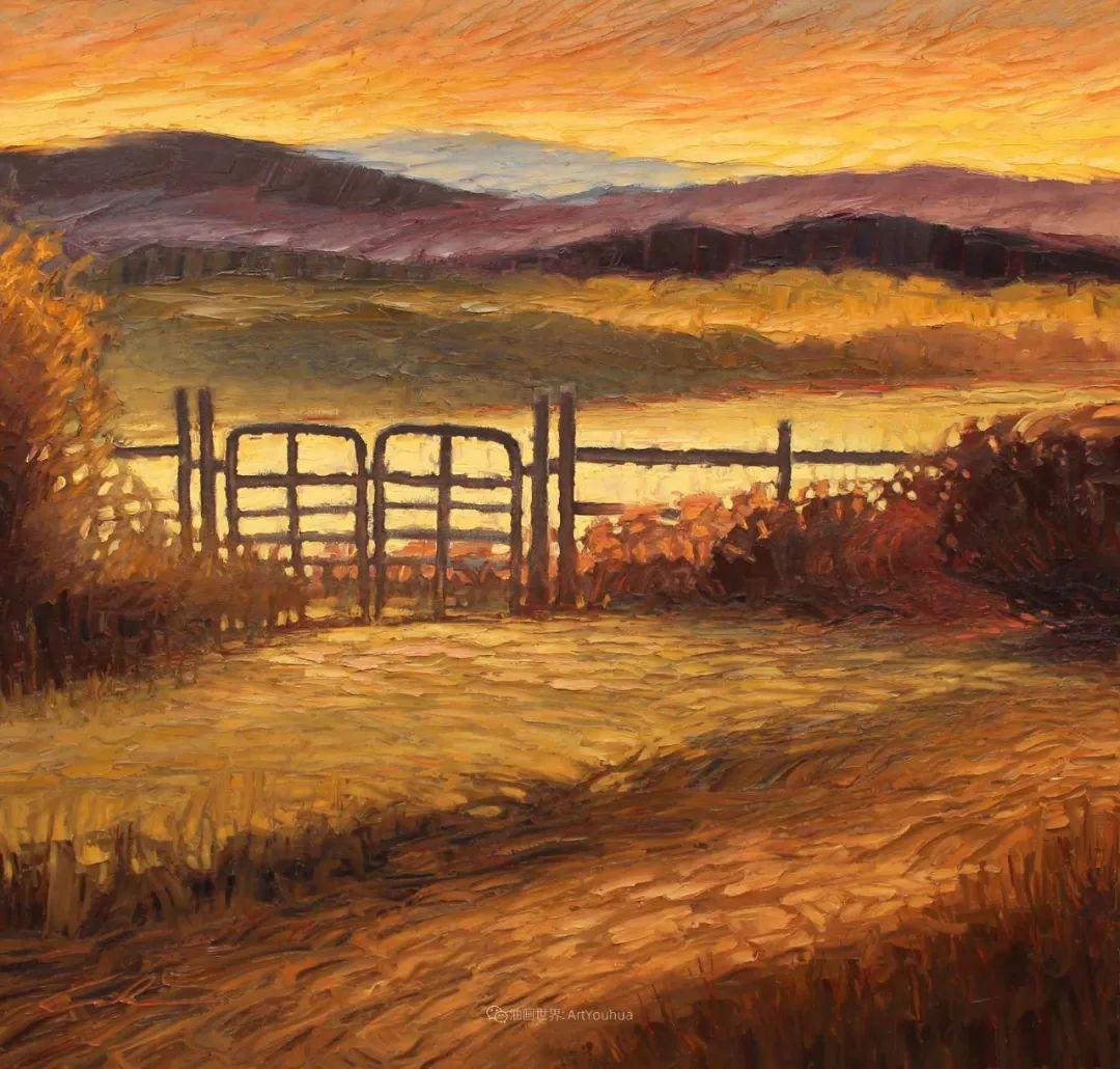 温暖祥和的风景,美国画家Jeff Cochran插图51