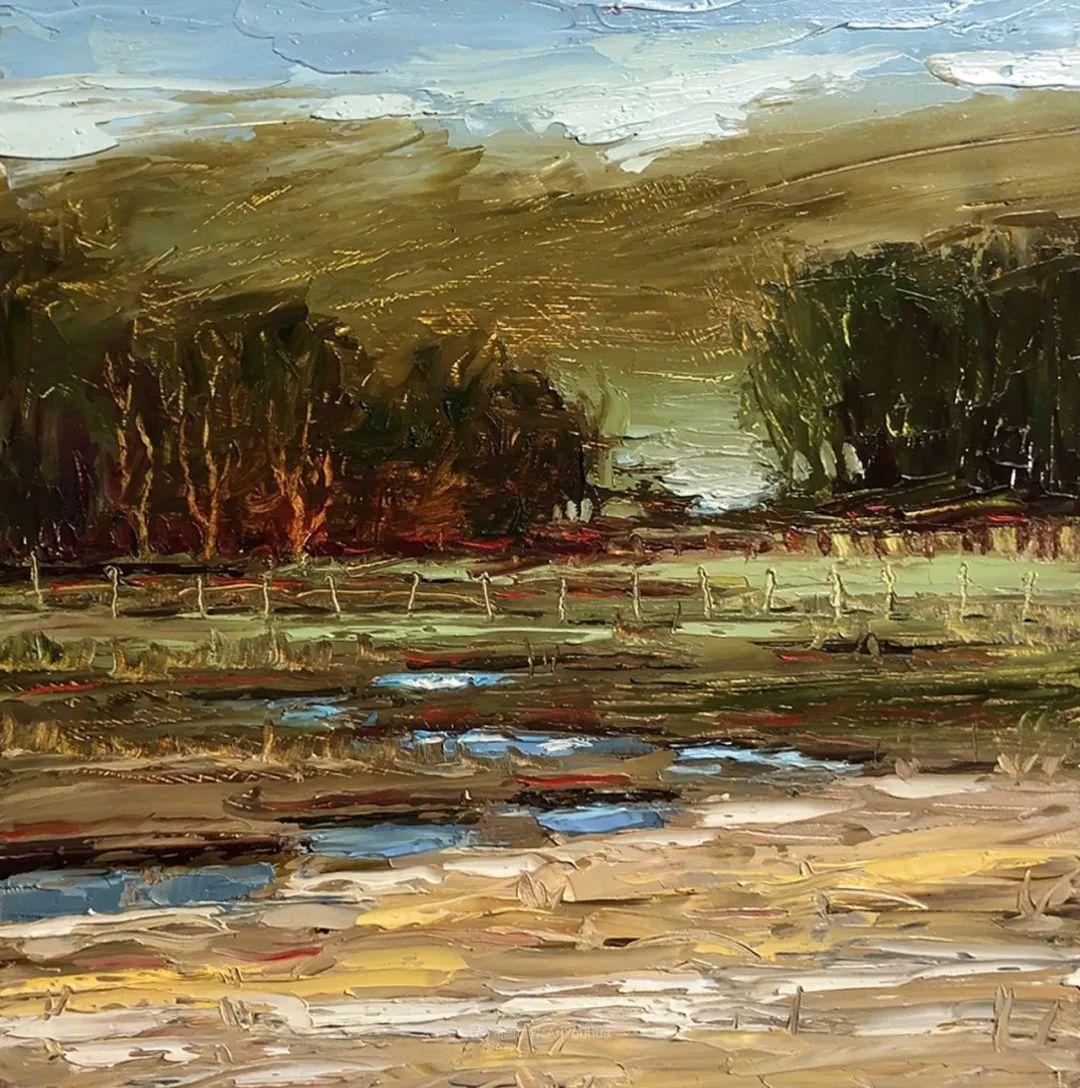 温暖祥和的风景,美国画家Jeff Cochran插图57