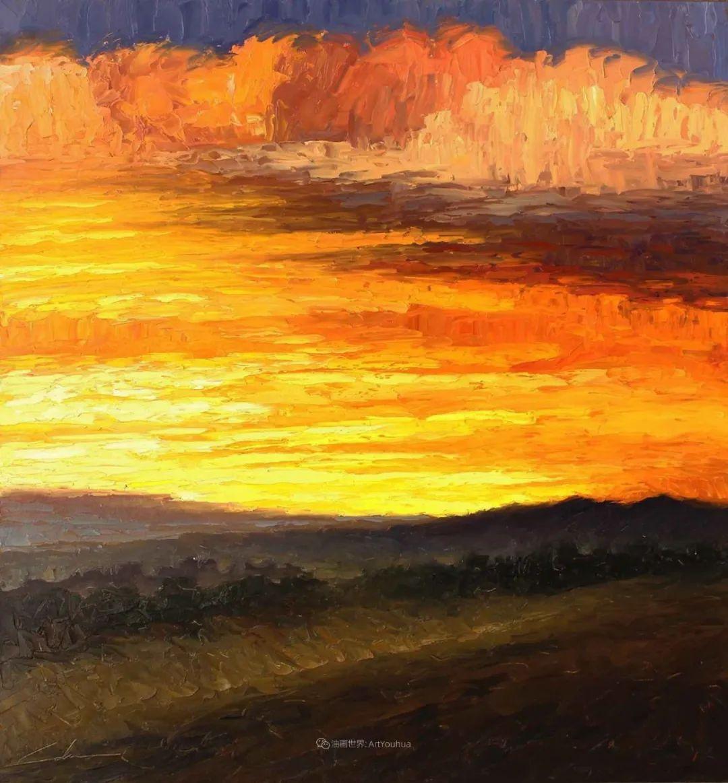 温暖祥和的风景,美国画家Jeff Cochran插图59