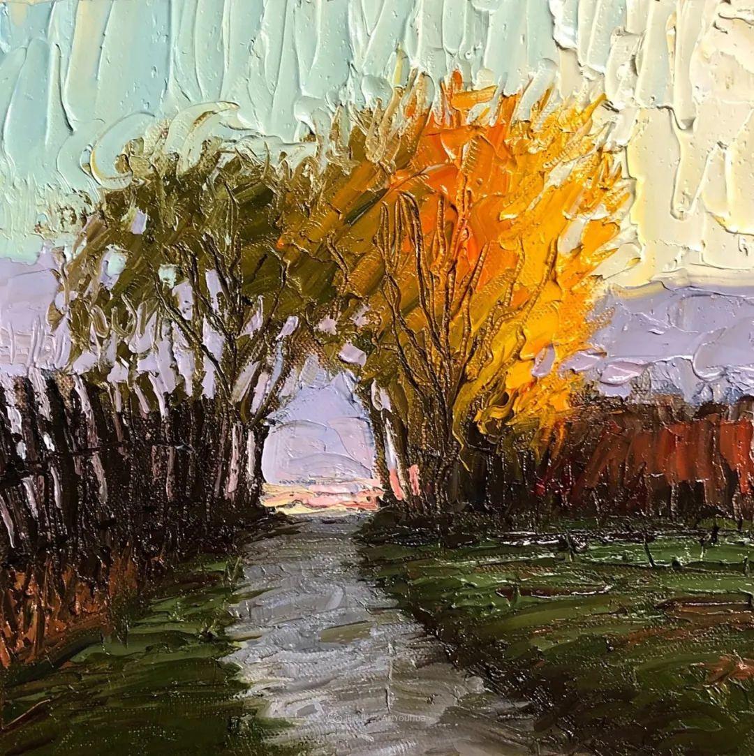 温暖祥和的风景,美国画家Jeff Cochran插图61