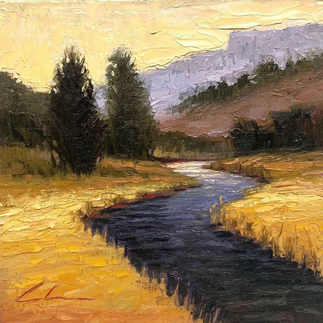 温暖祥和的风景,美国画家Jeff Cochran插图63