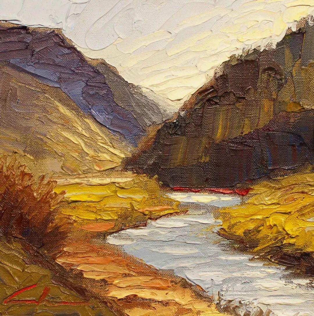 温暖祥和的风景,美国画家Jeff Cochran插图65