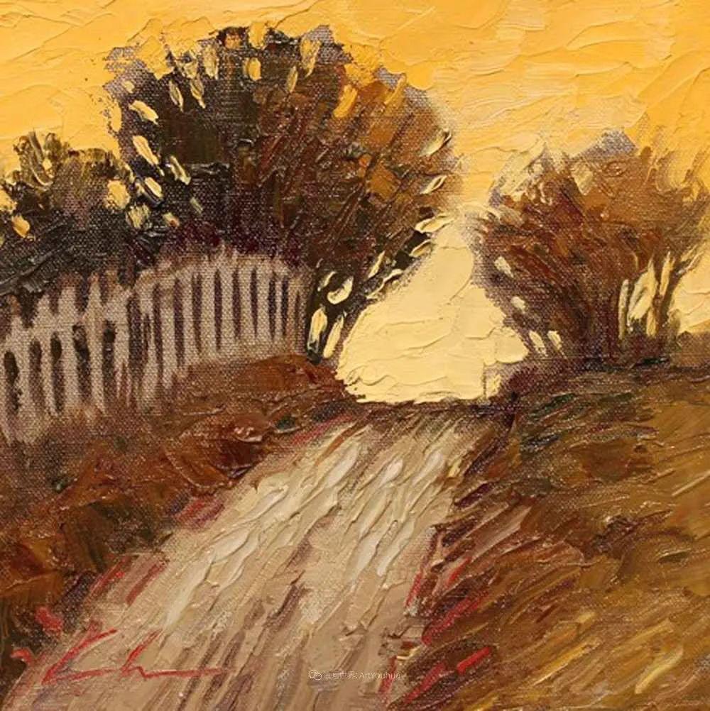 温暖祥和的风景,美国画家Jeff Cochran插图67