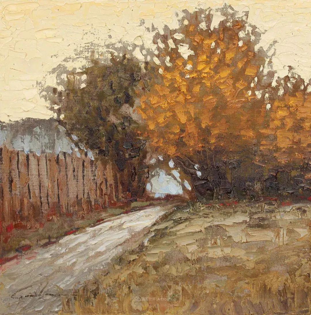 温暖祥和的风景,美国画家Jeff Cochran插图69