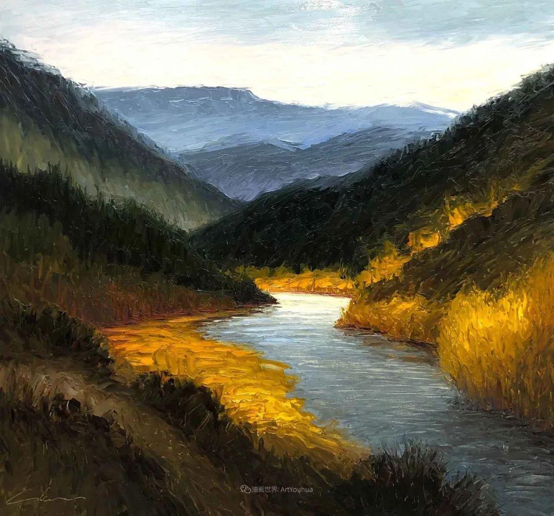 温暖祥和的风景,美国画家Jeff Cochran插图71