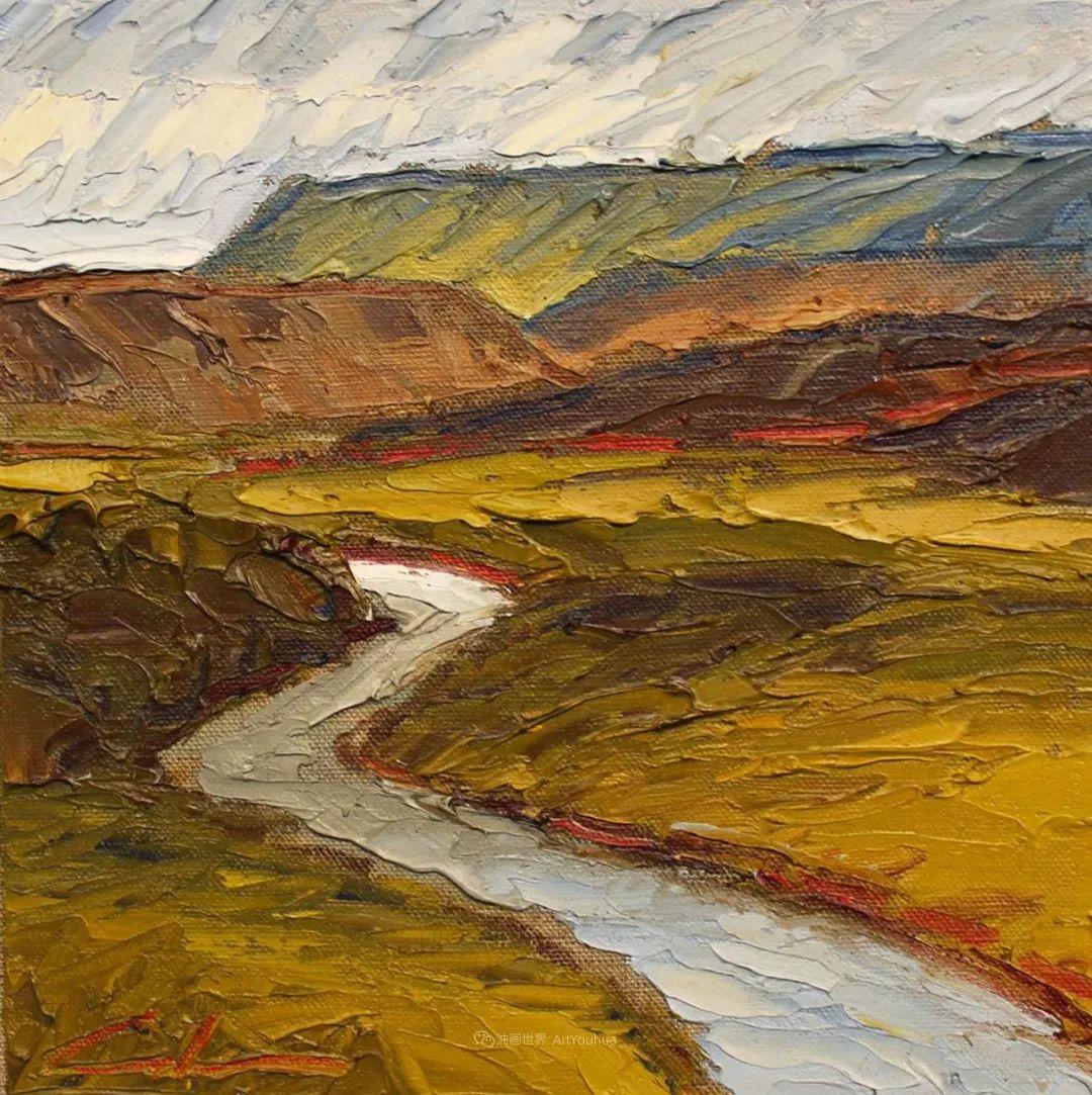 温暖祥和的风景,美国画家Jeff Cochran插图73