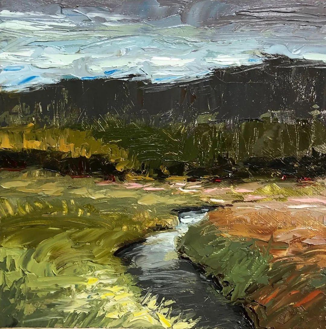 温暖祥和的风景,美国画家Jeff Cochran插图75