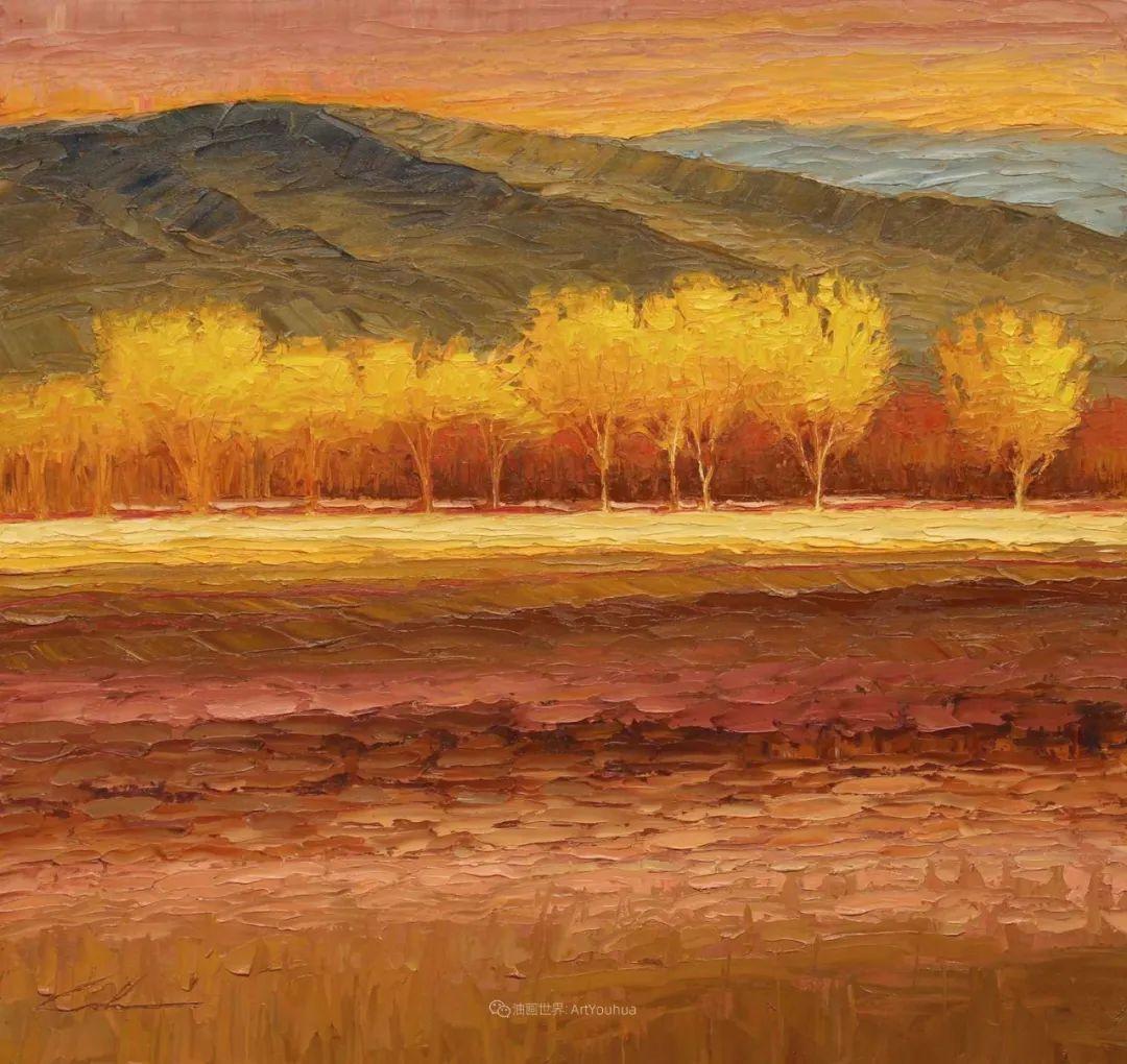 温暖祥和的风景,美国画家Jeff Cochran插图77