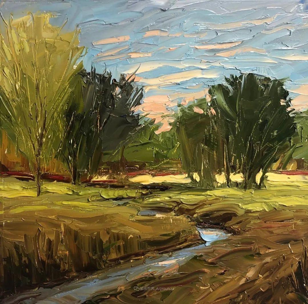 温暖祥和的风景,美国画家Jeff Cochran插图79