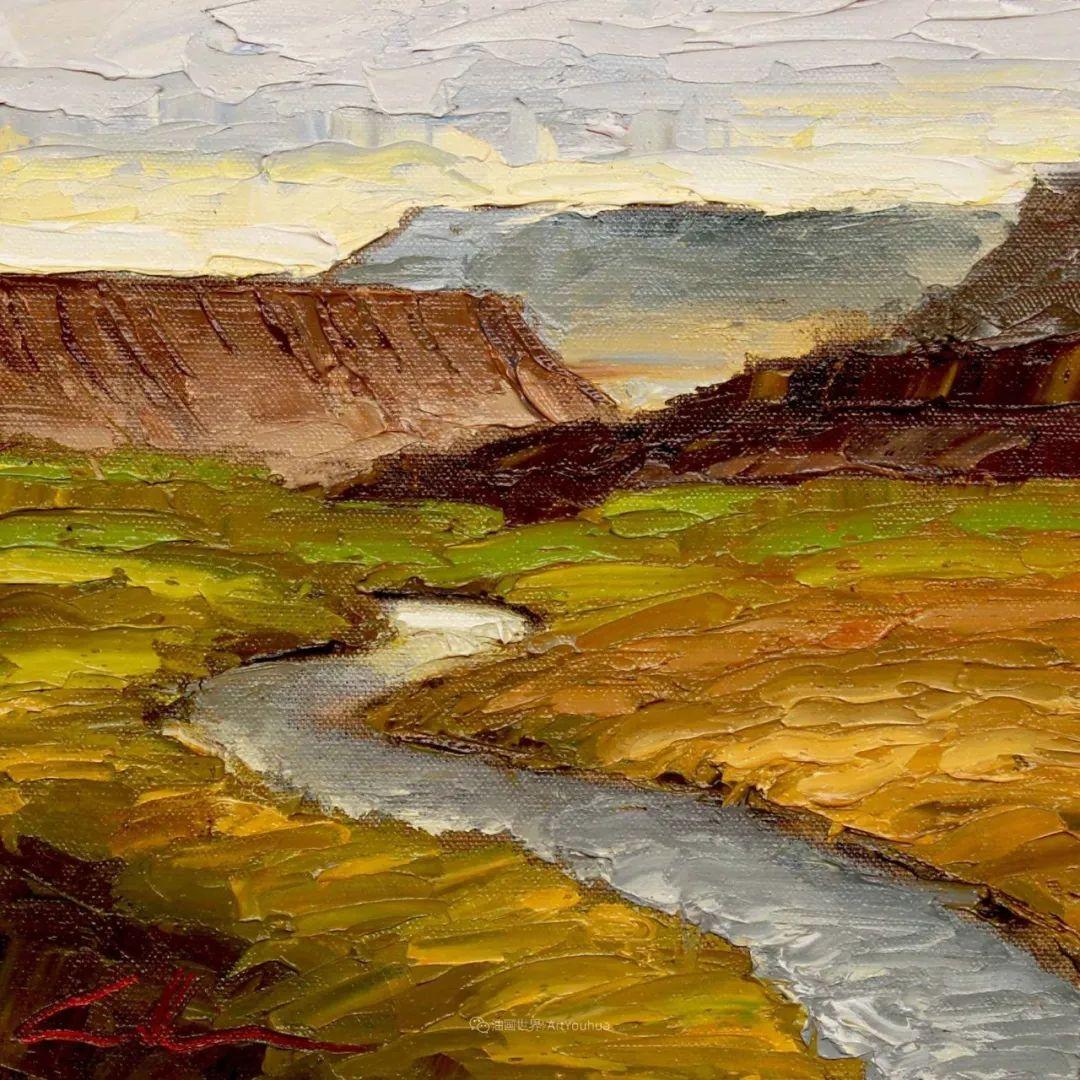 温暖祥和的风景,美国画家Jeff Cochran插图81