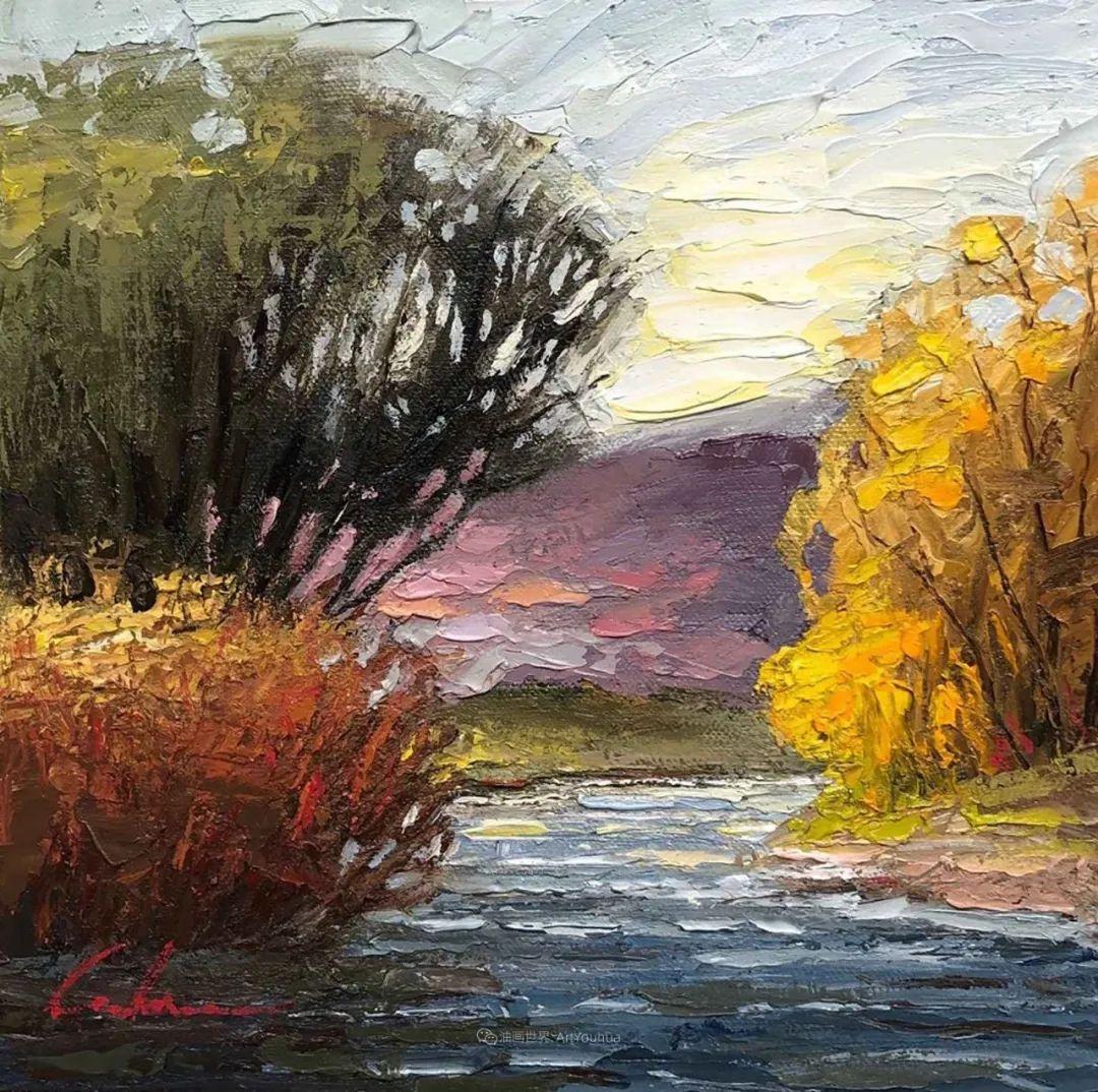 温暖祥和的风景,美国画家Jeff Cochran插图83