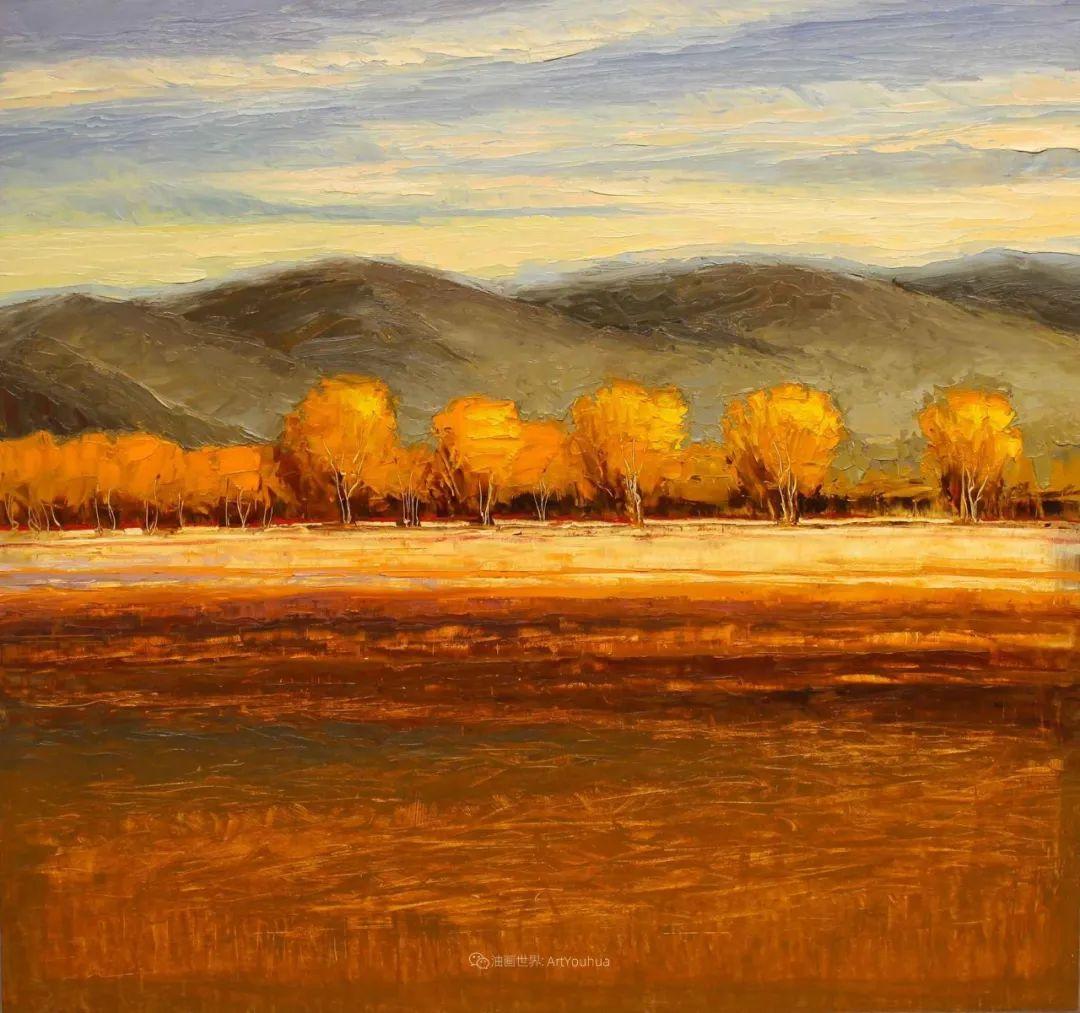 温暖祥和的风景,美国画家Jeff Cochran插图85